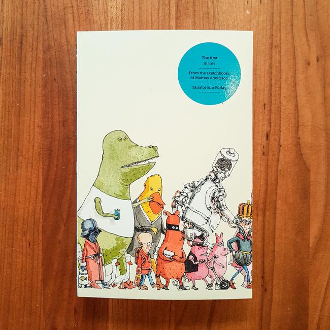 'The first in line' - Mattias Adolfsson