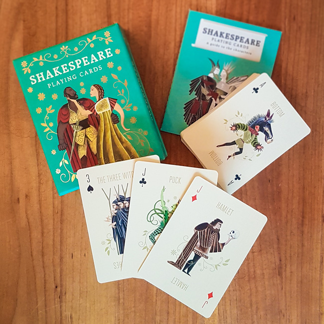 Shakespeare Playing Cards - Leander Deeny | Adam Simpson