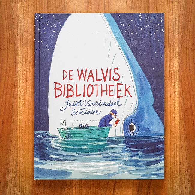 De Walvis Bibliotheek - Judith Vanistendael | Zidrou