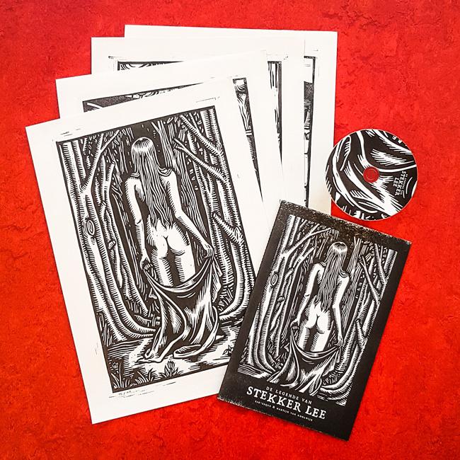 'De Legende van Stekker Lee' - limited edition prints