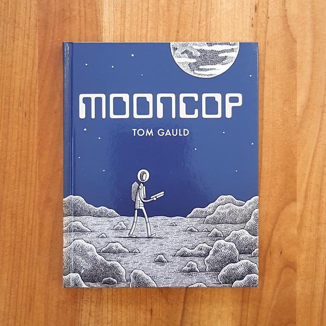 'Mooncop' - Tom Gauld