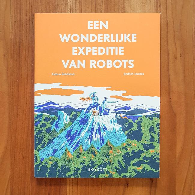 'Een wonderlijke expeditie van robots' - Rubašová   Janíček