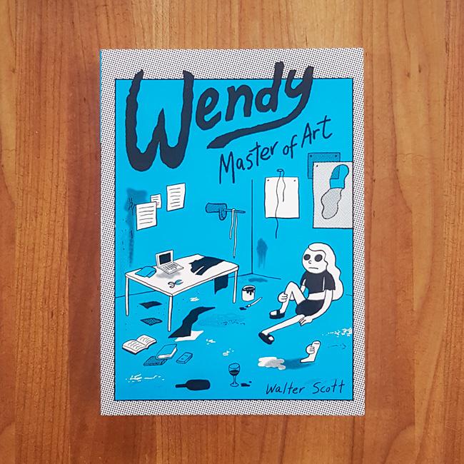 'Wendy, Master of Art' - Walter Scott