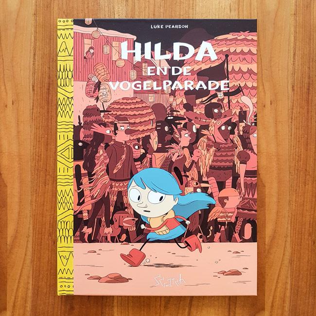 'Hilda en de vogelparade' - Luke Pearson