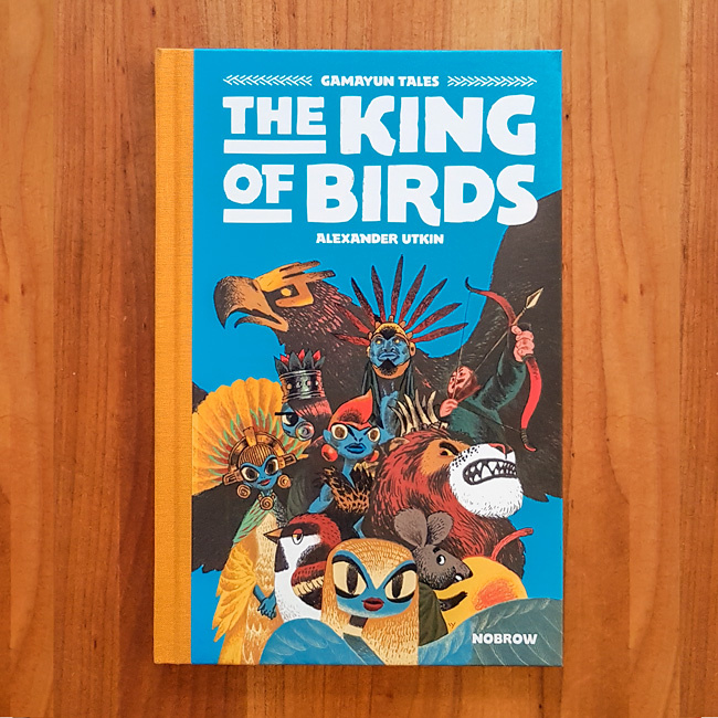 'The King of the Birds - The Gamayun Tales Vol.1' - Alexander Utkin