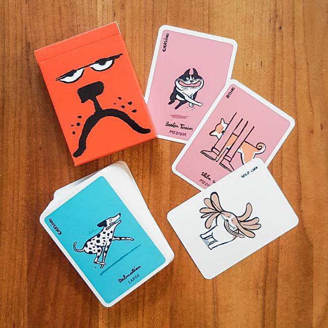 Dodgy Dogs - Jean Jullien | Yolky Games