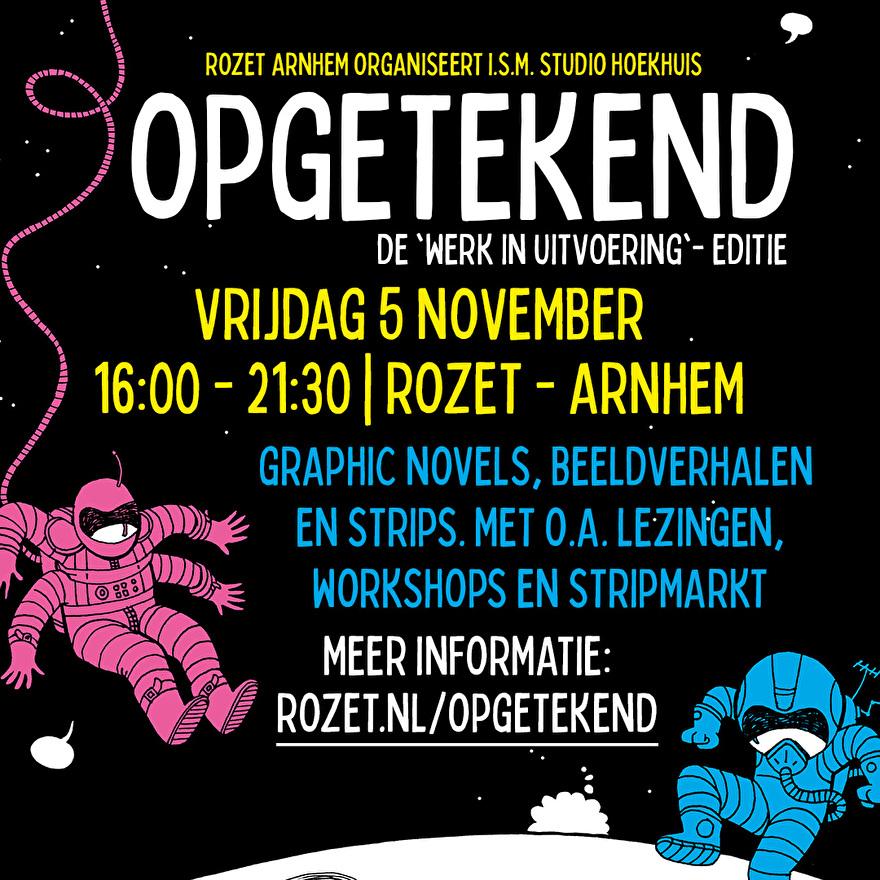 Opgetekend Rozet Arnhem woensdag 2 oktober