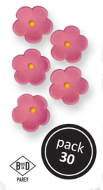 PME - Medium Pink Blossoms (30/PK)