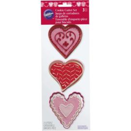 Wilton Heart Cutter Set/3