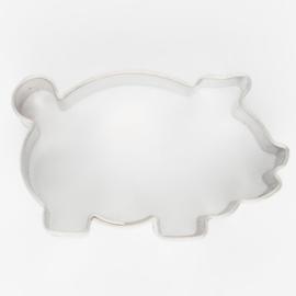 Koekjes Uitsteker Varken 4,5 cm RVS