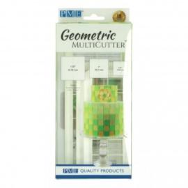 PME Geometric Multicutter Square Set/3