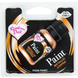 Metallic Food Paint - Metallic Copper- RD