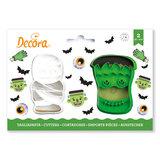 Decora - Koekjes Uitsteker Set 2 Monster Halloween