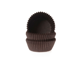 House of Marie Mini Baking Cups Bruin pk/60 [HM0541]