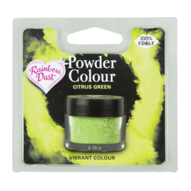 Powder Colour Citrus Green (Code: POW211)