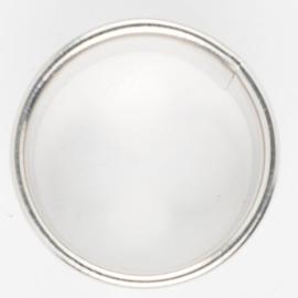 Koekjes uitsteker  ring 8 cm RVS