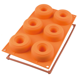 Silikomart Siliconen Donutvorm