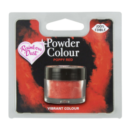 Powder Colour Poppy Red (Code: POW233)