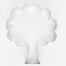 Koekjes Uitsteker Boom 6 cm  RVS