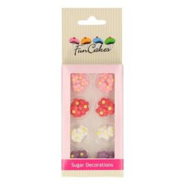 Funcakes Suikerdecoratie Kleine Bloemen Set/32