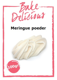 Bake Delicious - Meringue Poeder 100gr