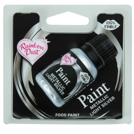 Metallic Food Paint - Metallic Ligth Silver - RD