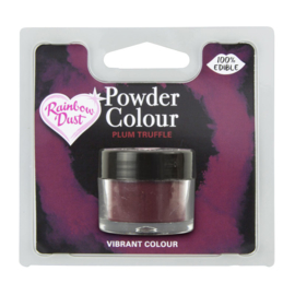 Powder Colour Plum Truffle (Code: POW232)