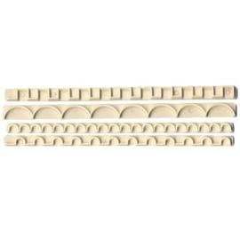 FMM Straight Frill Cutters Set 3