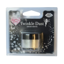 RD Edible Silk -Twinkle Dust Snow White