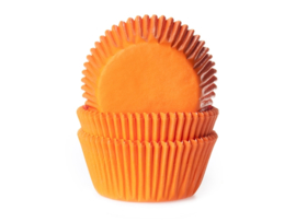 House of Marie Baking Cups Oranje pk/50 [HM0046]