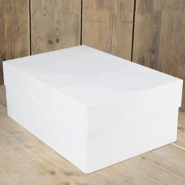 FunCakes Taartdoos -Wit - 40x30x15cm- pk/1[FC1093]