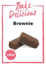 Bake Delicious - Brownie - 500gr