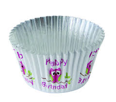 PME Foil Baking Cups Cute Owls Pk/30 [BC761]
