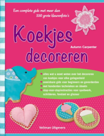 Boek: Koekjes Decoreren - Autumn Carpenter