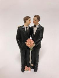 Bruidspaar Mannen polystone 15cm [0144806]