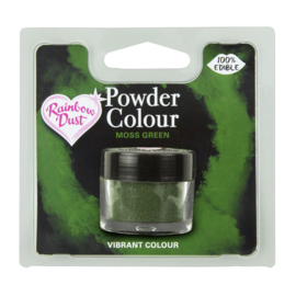 Powder Colour Moss Green (Code: POW202)