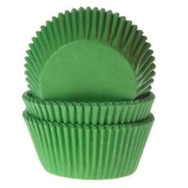 House of Marie Baking Cups Gras Groen pk/50