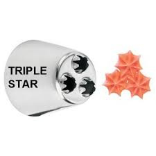 Wilton Decorating Tip Triple Star #2010