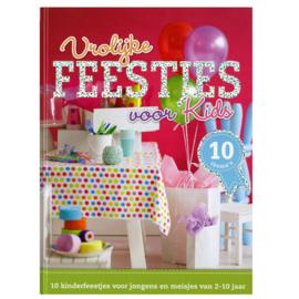 Boek: Vrolijke Feestjes voor Kids