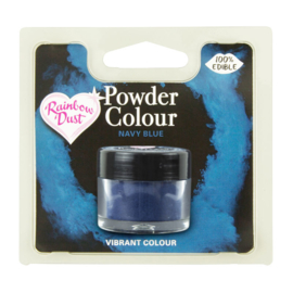 Powder Colour Navy Blue (Code: POW224)
