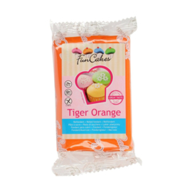 FunCakes Rolfondant Tiger Orange 250g