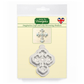 Katy Sue Mould Beaded Cross