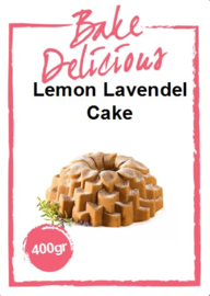 Bake Delicious - Lemon Lavendel Cake 400gr