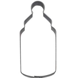 Koekjes uitsteker baby fles 6,5 cm RVS