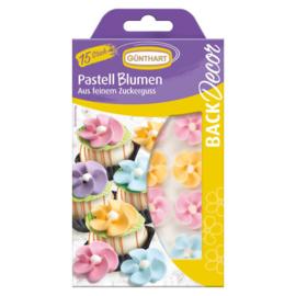 Günthart Suikerdecoratie Bloemen Pastel 15st.