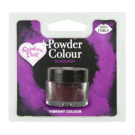 Powder Colour Burgundy (Code: POW206)