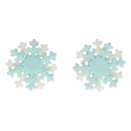 FunCakes Fondant Decoratie Sneeuwvlokken Set/6