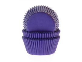 House of Marie Baking Cups Paars/Violet - pk/50 [HM4650]