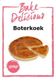 Bake Delicious - Boterkoek - 500gr
