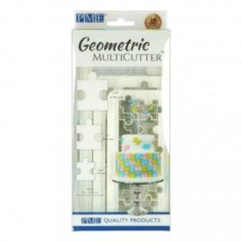 PME Geometric Multicutter Puzzle set/3
